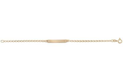 9ct Yellow Gold Babies' ID Bracelet