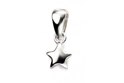 Sterling Silver Children's Star Pendant