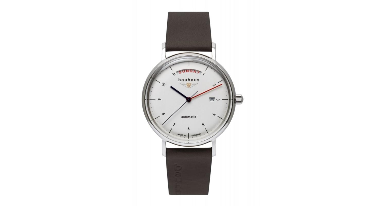 Bauhaus Herrenuhr Automatic Day Date Watch