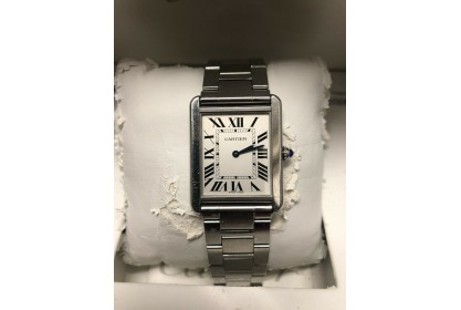 Cartier Tank Solo 2012 Quartz Watch