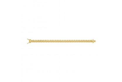 9ct Yellow Gold Mens Luxury Cuban Link Bracelet
