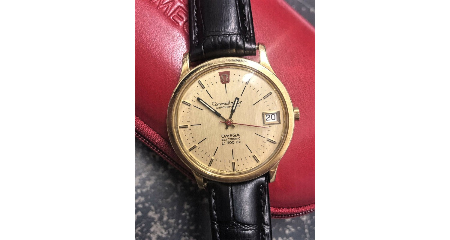 Omega Constellation 18ct Solid Gold F300HZ Watch
