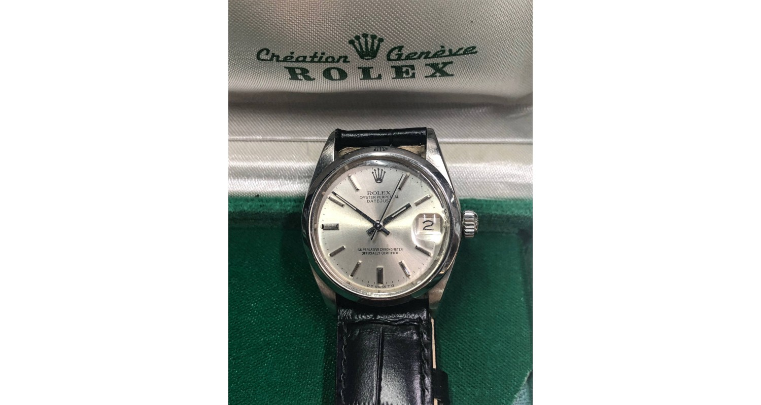 Rolex Datejust 1975 Midsize Automatic Watch