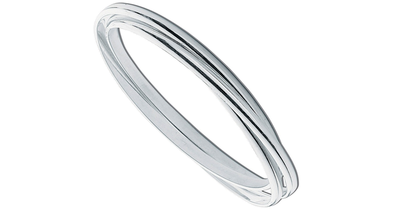 Sterling Silver Russian Wedding Bangle