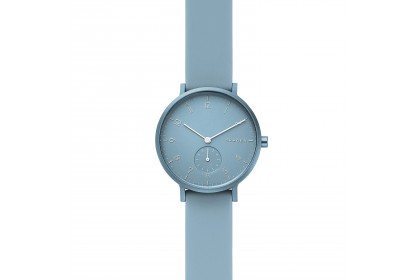 Skagen Aaren Kulor Light Blue Silicone 36mm Watch