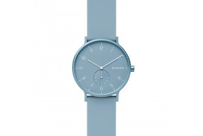 Skagen Aaren Kulor Light Blue Silicone 41mm Watch