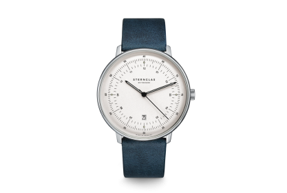 Sternglas Hamburg Midnight Blue Date Watch