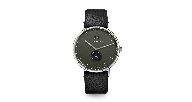 Sternglas Ivo Big Date Black Watch