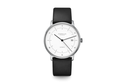 Sternglas Naos White Date Automatic Watch