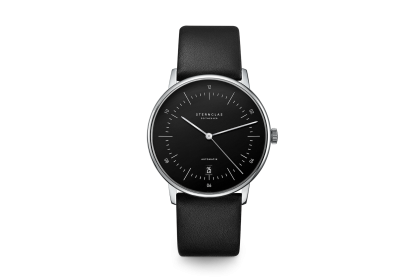 Sternglas Naos Black Date Automatic Watch