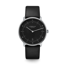 Sternglas Naos Black Date Watch